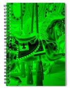 Green Horse Spiral Notebook