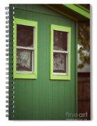 Green House Spiral Notebook