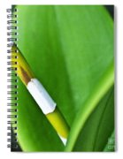 Green Leaves Spiral Notebook