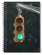 Green Light Spiral Notebook