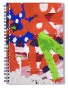 Green M Spiral Notebook