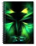 Green Man Spiral Notebook