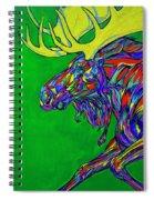 Green Mega Moose Spiral Notebook