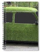 Green Mini Spiral Notebook