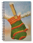 Green Mittens Spiral Notebook