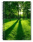Green Park Spiral Notebook