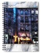 Green Pipes Of Pompidou Center Paris Spiral Notebook
