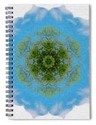 Green Planet Spiral Notebook
