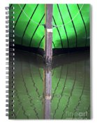 Green Reflection Spiral Notebook