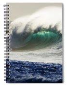 Green Torch Spiral Notebook