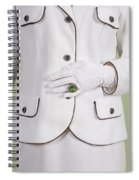 Green Ring Spiral Notebook