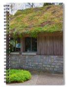 Green Roof Spiral Notebook