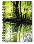 Green Shadows Spiral Notebook