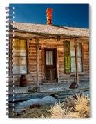 Green Shutter Spiral Notebook