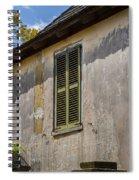Green Shutters Stucco Walls St Augustine Spiral Notebook