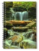 Green Spring Cascades Spiral Notebook