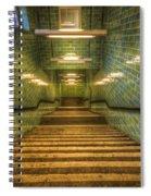 Green Stairs Spiral Notebook