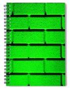 Green Wall Spiral Notebook