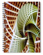 Green Weave Spiral Notebook