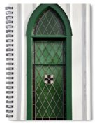 Green Window Spiral Notebook