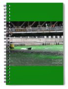 Greening The Chicago River Spiral Notebook
