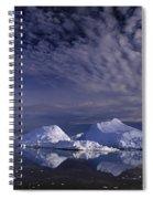 Greenland Midnight Sun Spiral Notebook