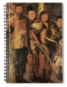 Greenlanders, 1654 Spiral Notebook