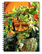 Greenman Spiral Notebook