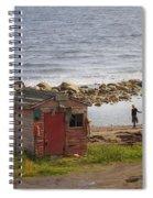 Green's Point Dancer Spiral Notebook