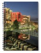 Dowtown Greenville South Carolina Spiral Notebook