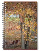 Greetings Of Nature Spiral Notebook