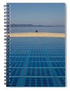 Greetings To The Sun Zadar Installation Spiral Notebook
