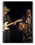 Greg Brown And Bo Ramsey In Concert Spiral Notebook