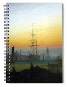 Greifswald Harbour Spiral Notebook