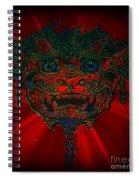 Gremlin In Dynamic Color Spiral Notebook
