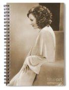 Greta Garbo Spiral Notebook