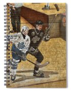 Gretzky And Gilmour 2 Spiral Notebook
