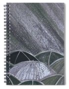 Grey Rain 2 By Jrr Spiral Notebook