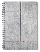 Grey Tiles Spiral Notebook