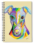 Greyhound Spiral Notebook
