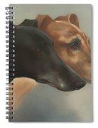 Greyhounds  Spiral Notebook