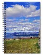 Grianan Of Aileach View Spiral Notebook