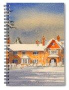 Griffin House School - Snowy Day Spiral Notebook