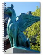 Griffin Natural Color Spiral Notebook