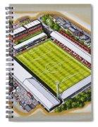 Griffin Park - Brentford Fc Spiral Notebook
