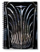 Grill And Headlights Spiral Notebook