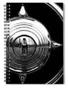Grill Bullet 1949 Ford Custom V-8 Spiral Notebook