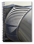 Grill Work Spiral Notebook