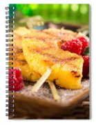 Grilled Pineapple  Spiral Notebook