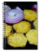Grilled Veggies #1 Crop 2 Spiral Notebook